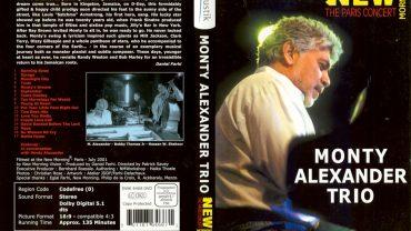 DVD MONTY ALEXDANDER TRIO NEW MORNING
