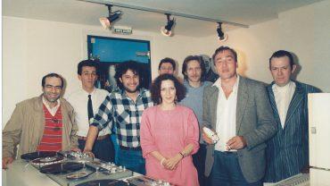 YVES BOISSET POUR LA SORTIE DE RADIO CORBEAU AVEC MARYSE ET HUBERT CHARDOT 1989