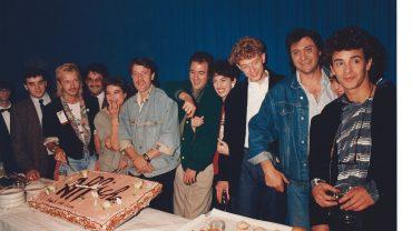 FRANCE 3 LA NOUVELLE AFFICHE AVEC RENAUD, FRANCK LANGLOFF, ZABOU, ELLI MEDEIROS, ARNOLD TURBOUST... 1988