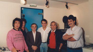 YIDDISH CONNECTION DE PAUL BOUJENAH AVEC CHARLES AZNAVOUR ET VINCENT LINDON 1986