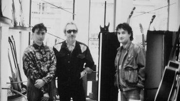 JOHN ENTWISTLE DES WHO AVEC JEAN-FRANÇOIS CLEMENT 1984