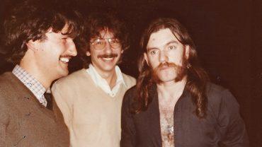 PHOTO PATRICK ET LEMMY 1982