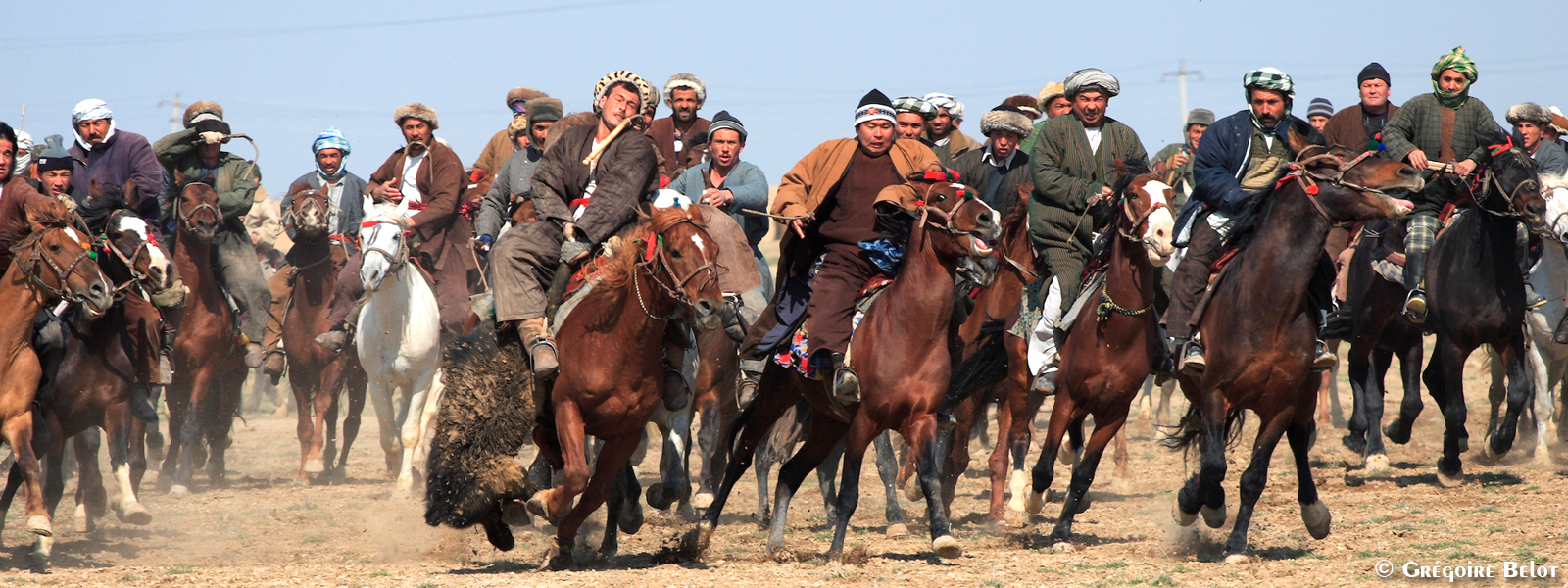 THE AFGHAN HORSEMEN
