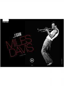Couleur Jazz I Saw Miles Davis p1