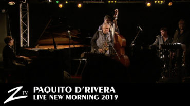 "Paquito D'Rivera ""Cariberian tour"" – New Morning 2019"