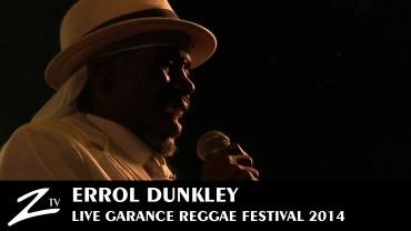 Errol Dunkley – Garance Reggae Festival 2014
