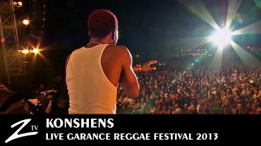 Konshens – Garance Reggae Festival 2013