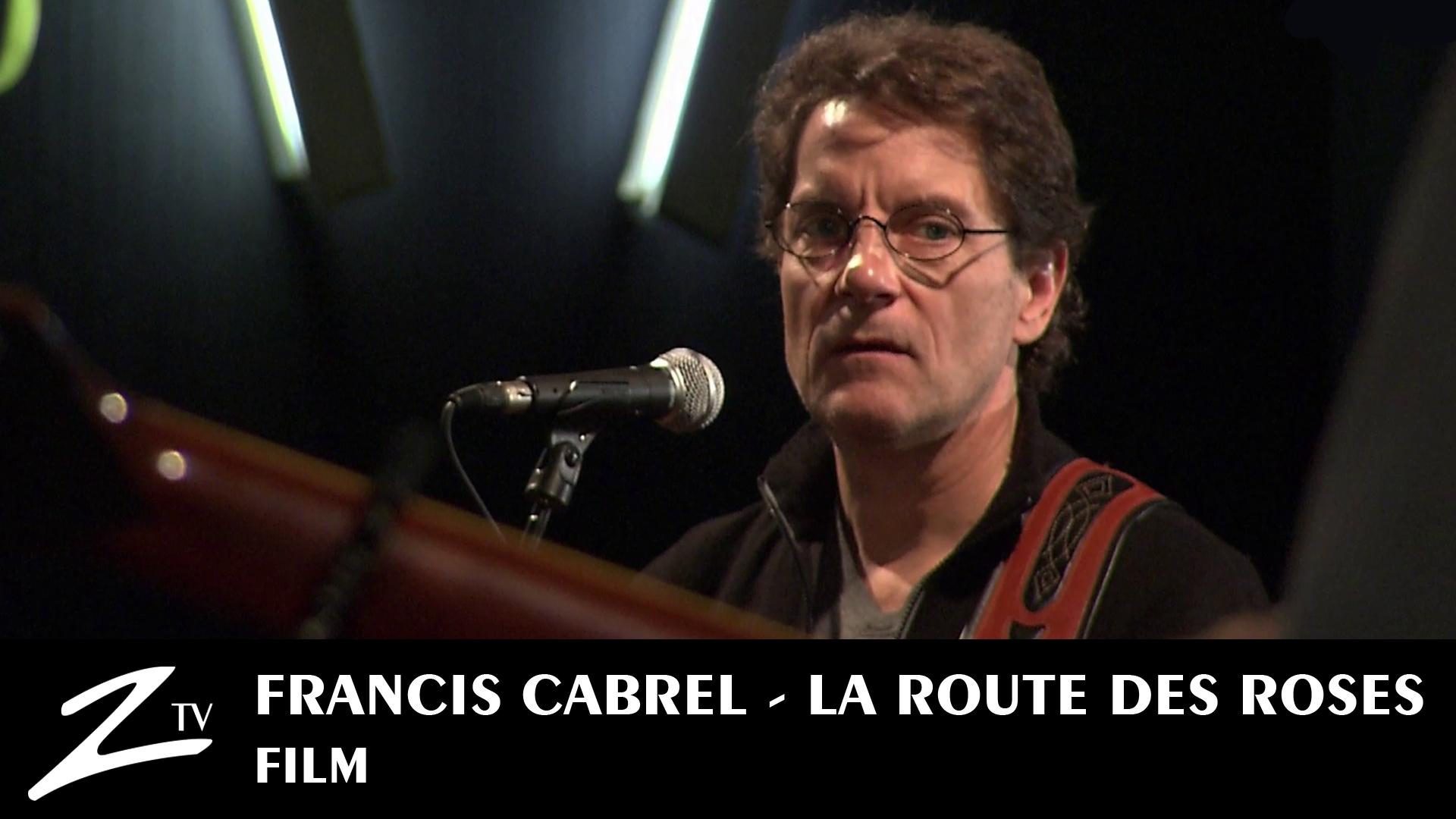 francis cabrel youtube