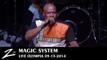 Magic System – Olympia 2014