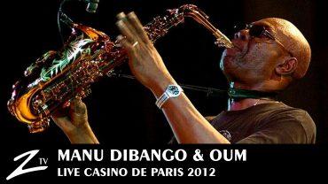 Manu Dibango – Casino de Paris 2012