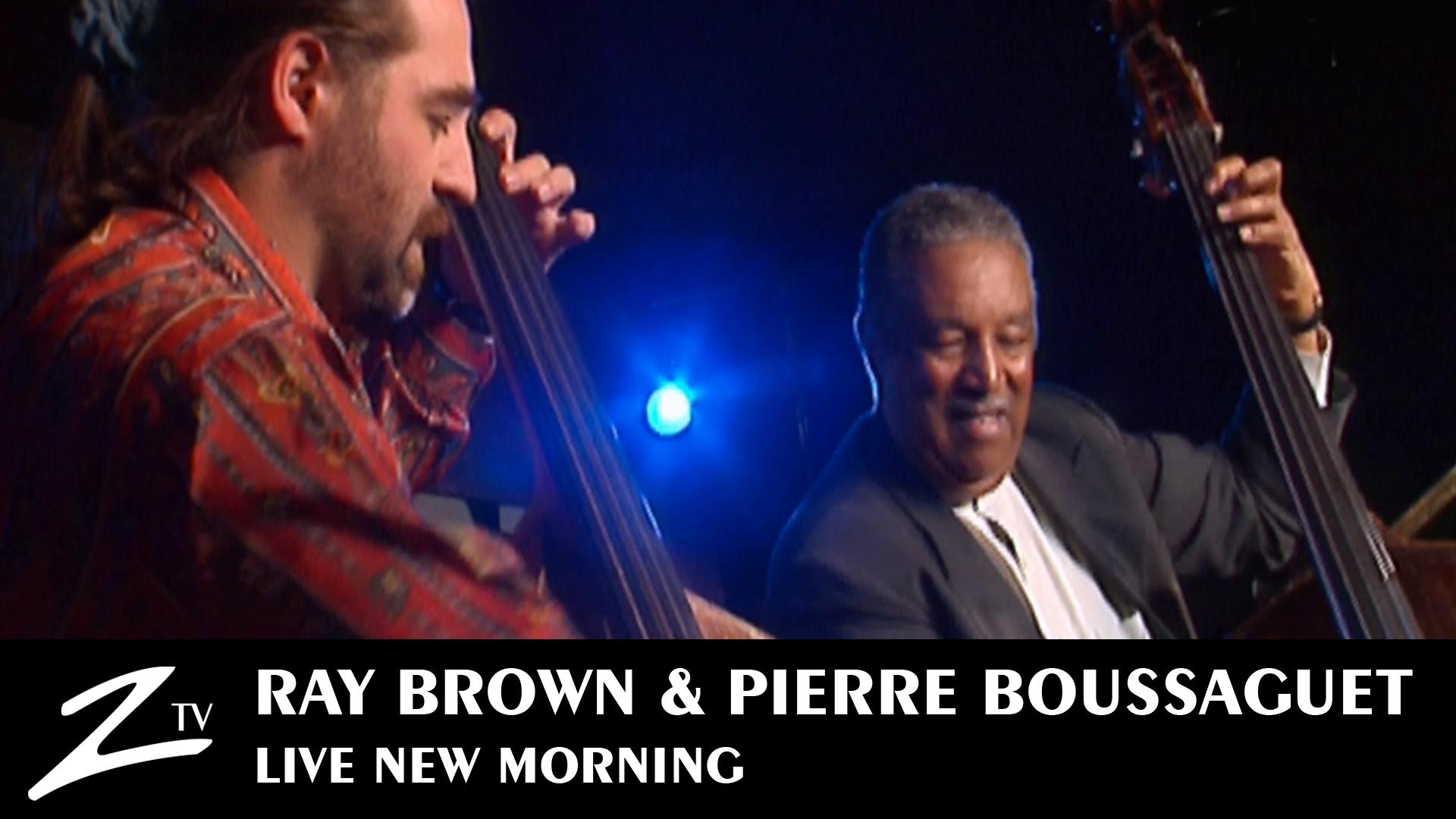 Vyoutube-Ray-Brown-et-Pierre-Boussaguet