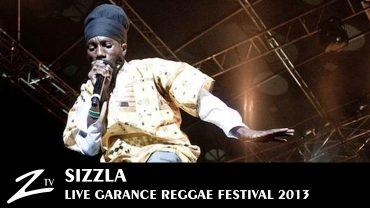 Sizzla – Garance Reggae Festival 2013