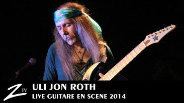 Uli Jon Roth – Guitare en Scène 2014