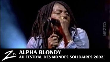 Alpha Blondy – Festival des Mondes Solidaires