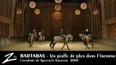 Bartabas, un piaffe de plus dans l'inconnu