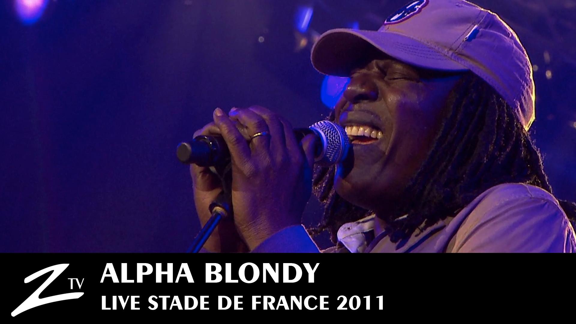 Alpha Blondy au Stade de France