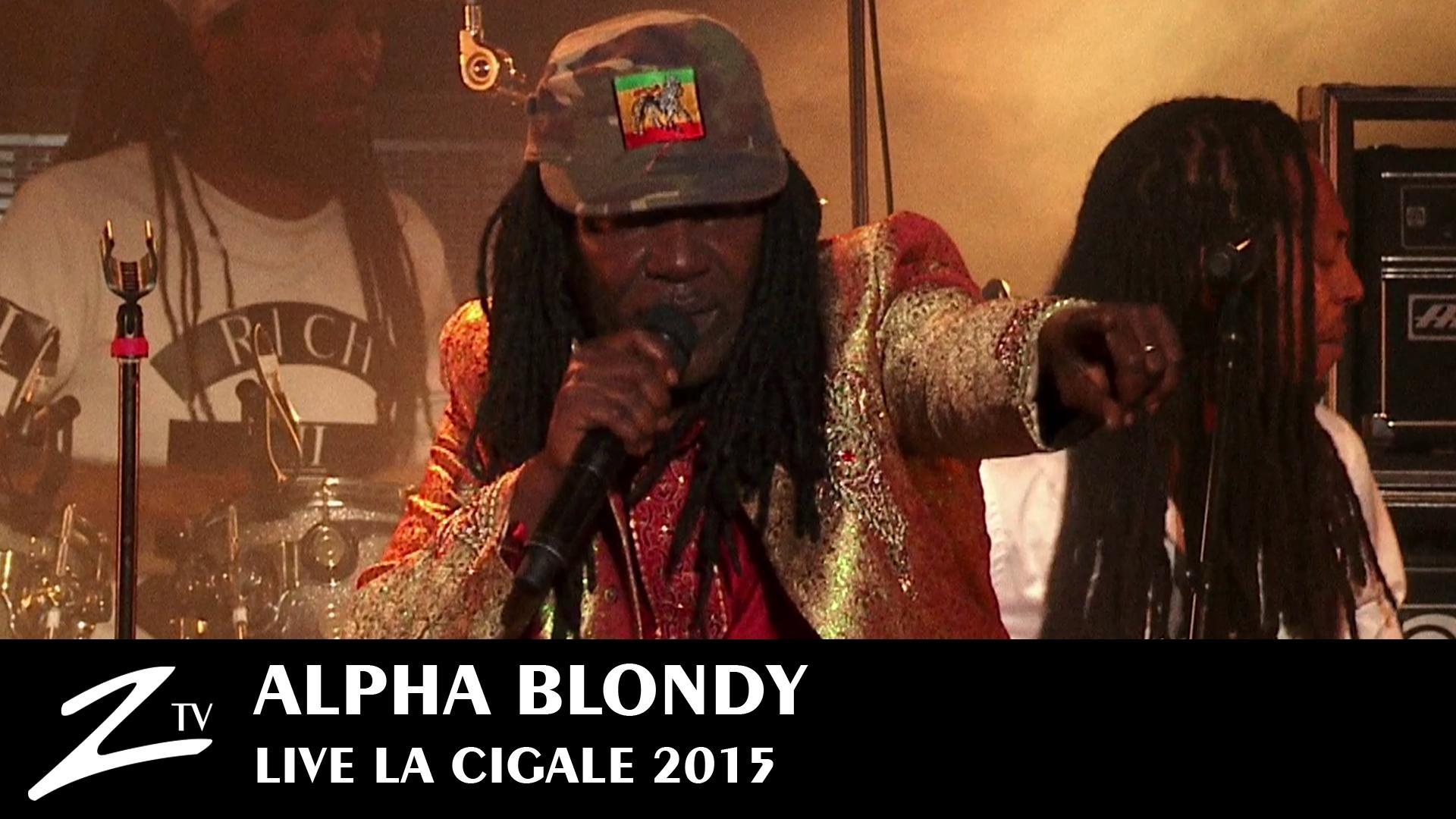 Alpha Blondy à La Cigale