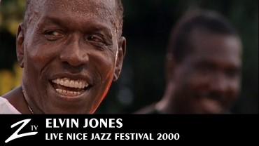 Elvin Jones – Nice Jazz Festival