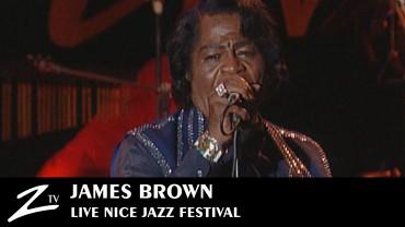 James Brown – Nice Jazz Festival