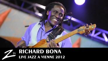 Richard Bona – Jazz à Vienne 2012